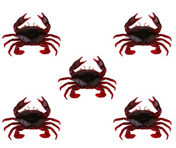 3D Manic Crab - Red & Black (2.5cm - 2gr)