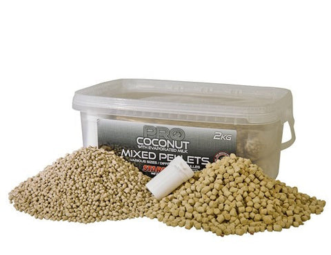 Starbaits - Mixed Pellets Pro Coconut 2kg