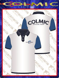 Colmic - Polo white & blu official team (Xxlarge)