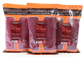 Sonubaits - Bloodworm Feed Pellets 6mm