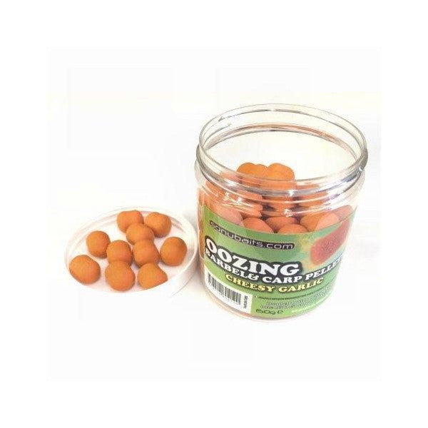 Sonubaits - Mini oozing barbel & carp pellets Cheesy Garlic