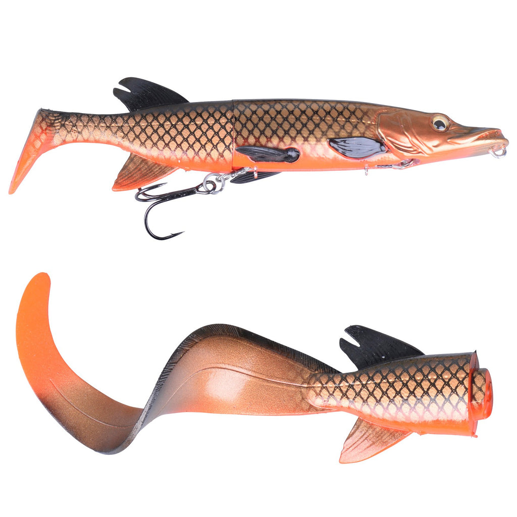 3D Hybrid Pike - Red Copper Pike (17cm - 45gr)