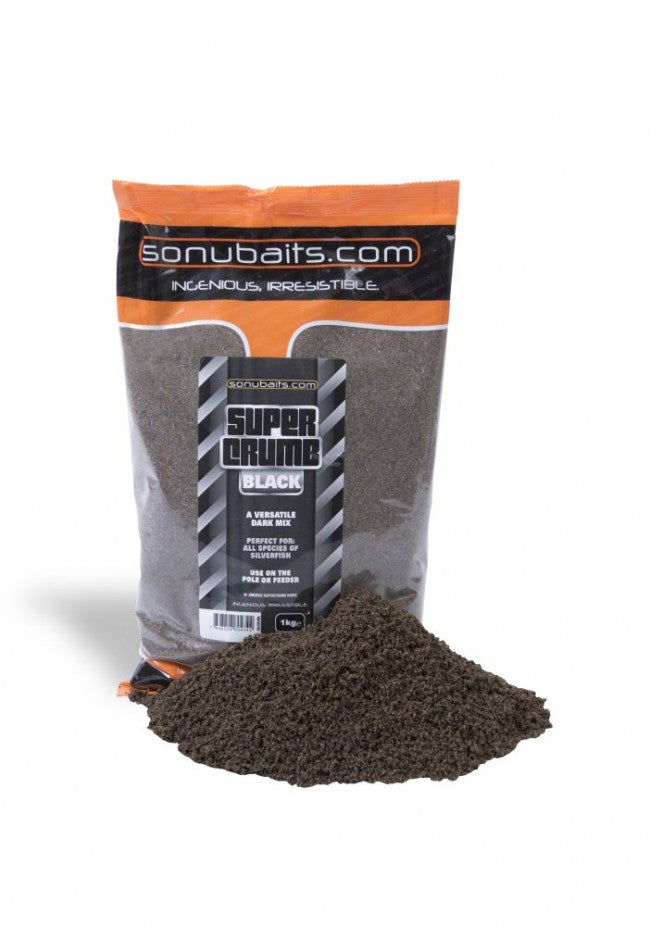 Sonubaits - Supercrumb Black groundbait