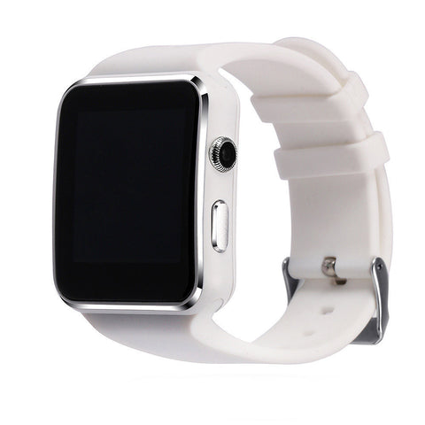 White Adult Smart Tracker Watch Android Wear Anti-lost Sync with Sim