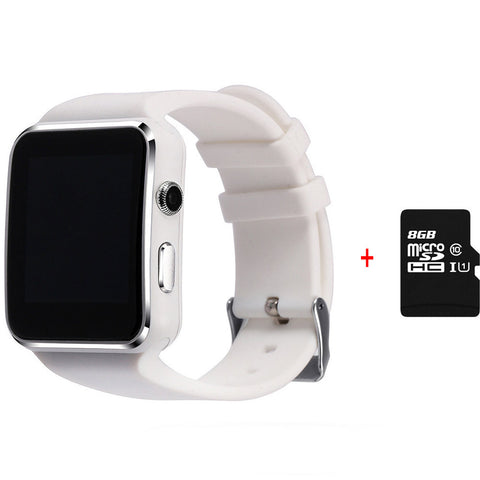 White Adult Smart Tracker Watch