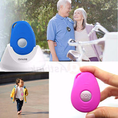 Elderly safety, personal GPS  tracker with big SOS button for emergency call,