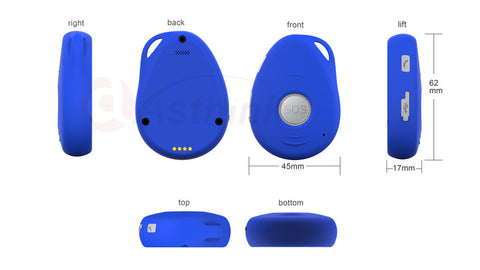 Hot Selling Personal GPS Tracking Devices for elderly with SOS calling,