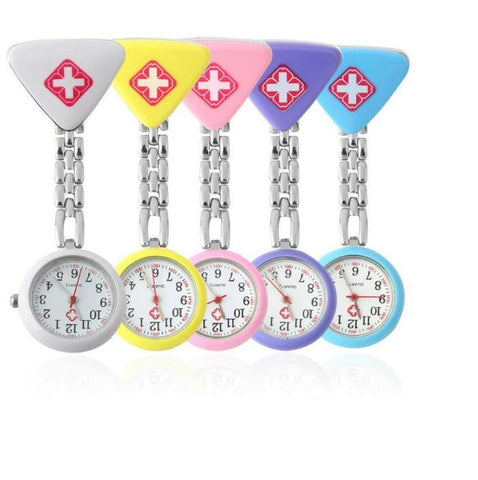 Red Cross Nurse Pendant Pocket watch