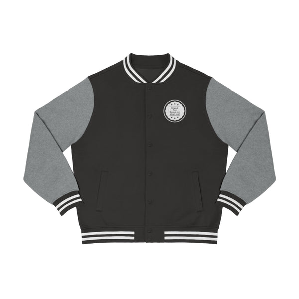 StandForSumn Or Shut Up Men's Varsity Jacket