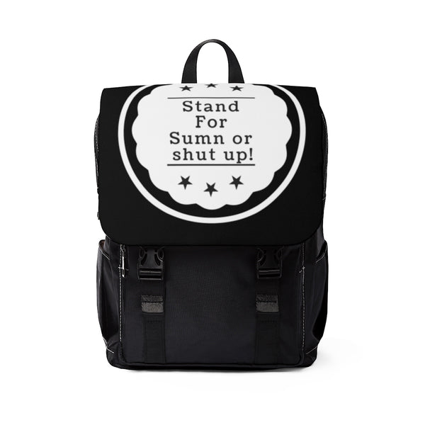 StandForSumn Blackout Unisex Casual Shoulder Backpack