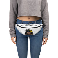 """You hate me i hate you,who cares?""  Fanny Pack"