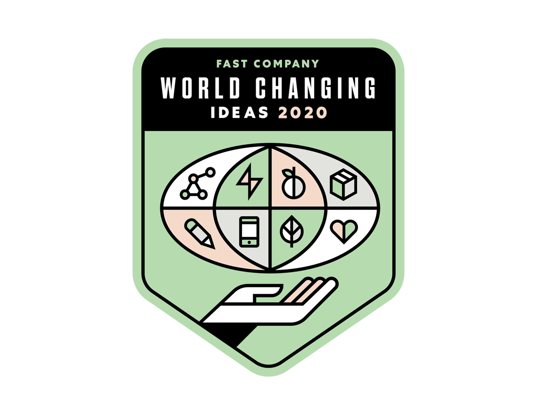 fast company world changing ideas award logo