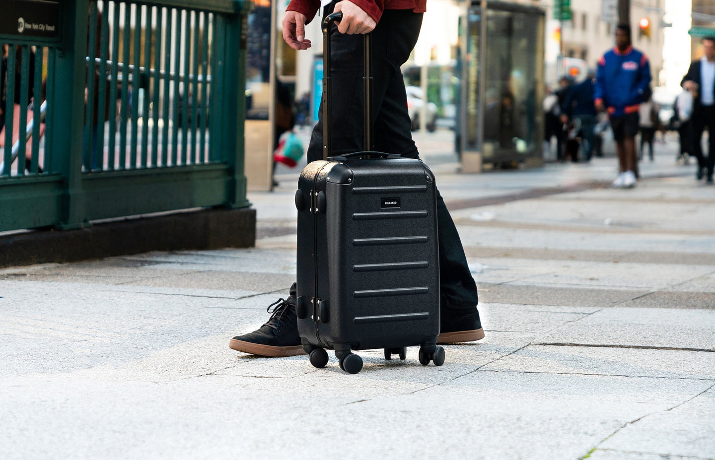 Premium, sustainable travel luggage, bags, and accessories for global citizens