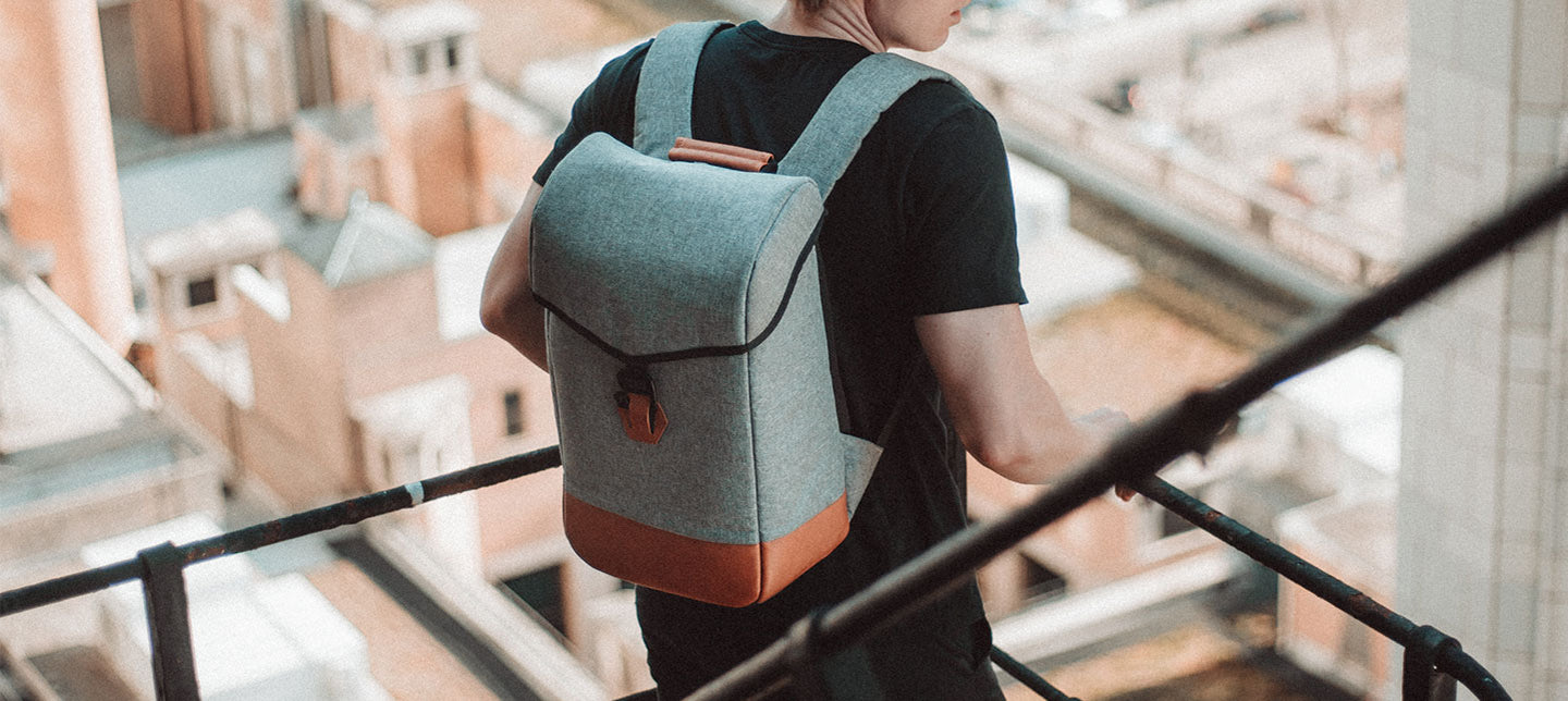 Premium, travel backpack with drop proof laptop section for global citizens