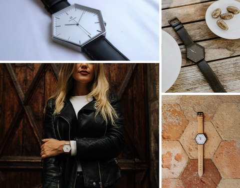 gifts for millennials, hex watches, hexagon watch, affordable luxury watches