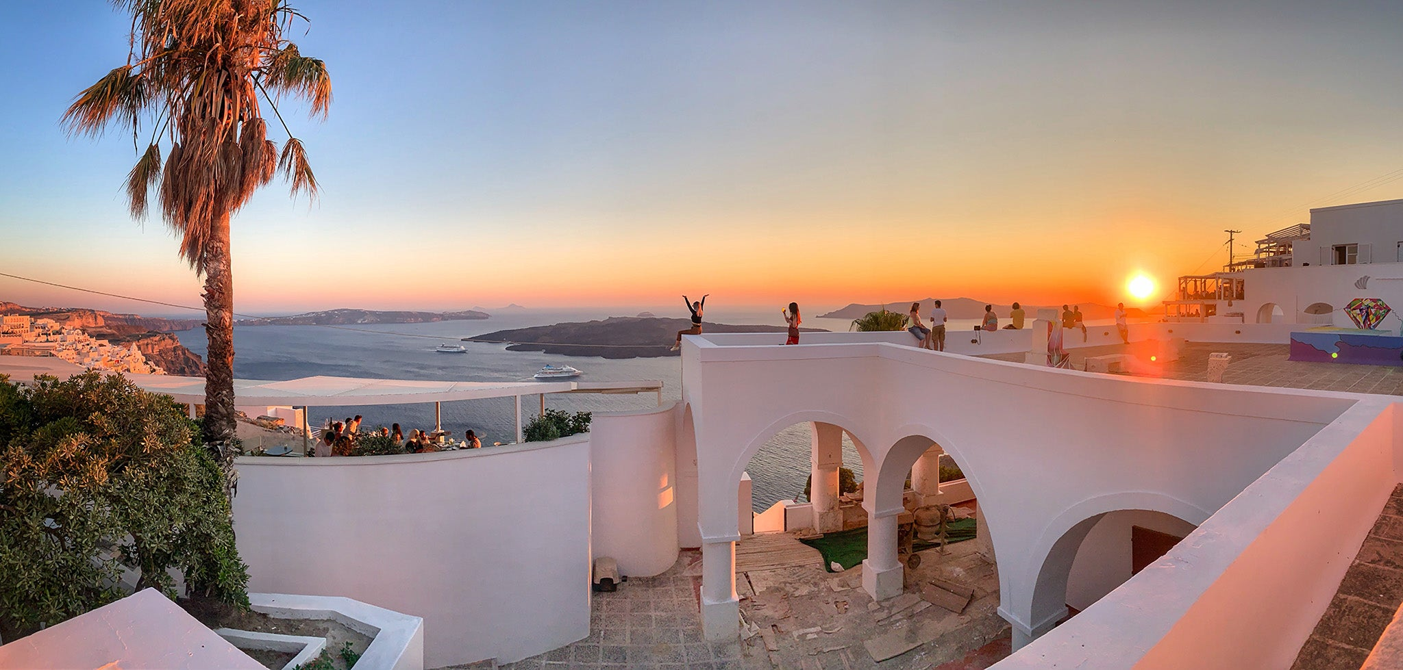 Thira Santorini Sunset