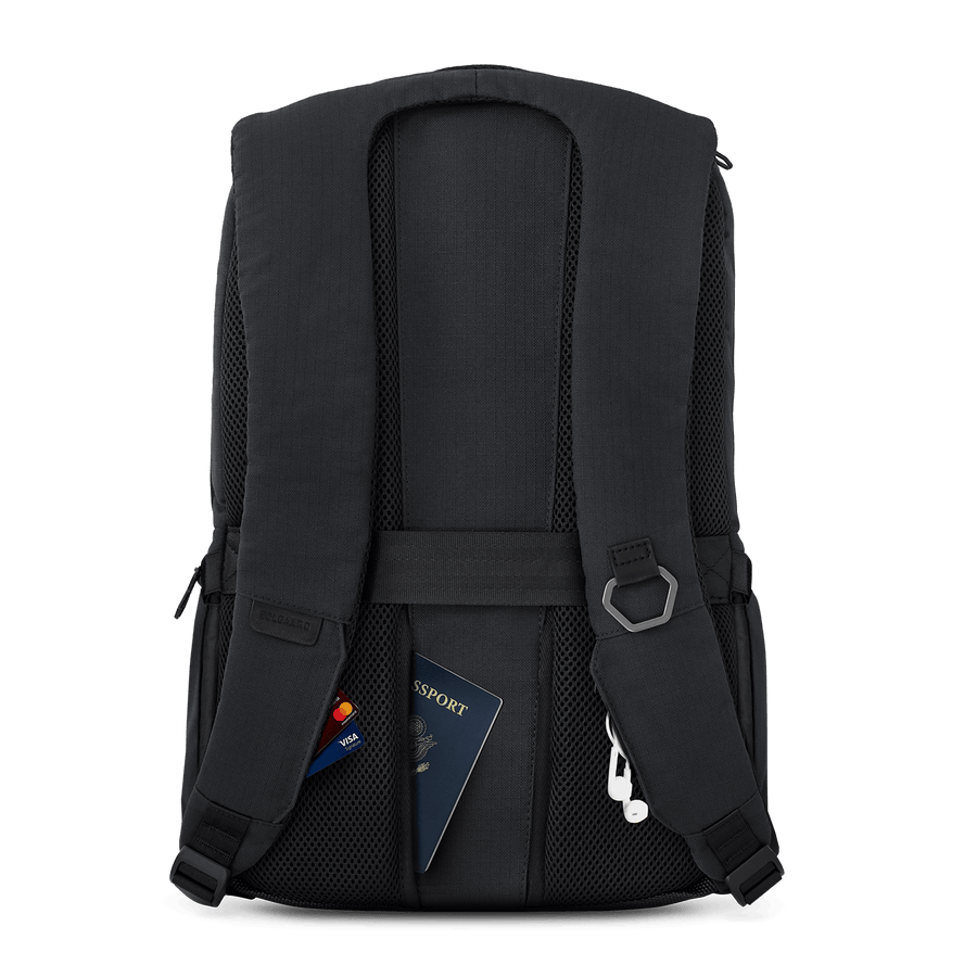 Baltic Black | Daypack w/ lock
