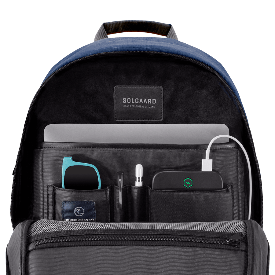 Atlantic Blue | Daypack w/ lock