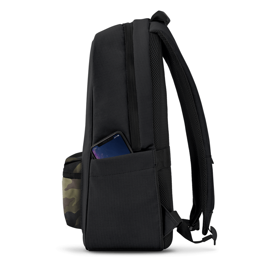 Baltic Black Camo | Daypack w/ lock