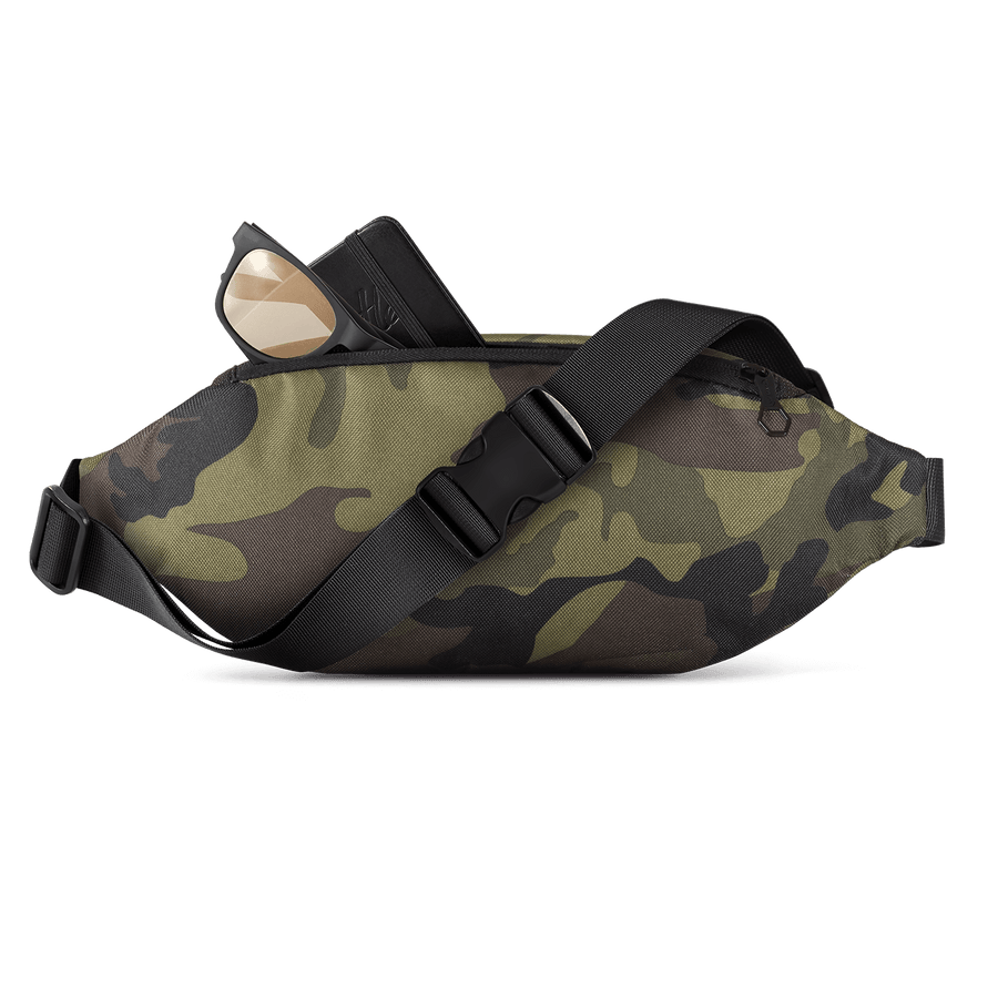 Green Camouflage | Sling with Solarbank Boombox