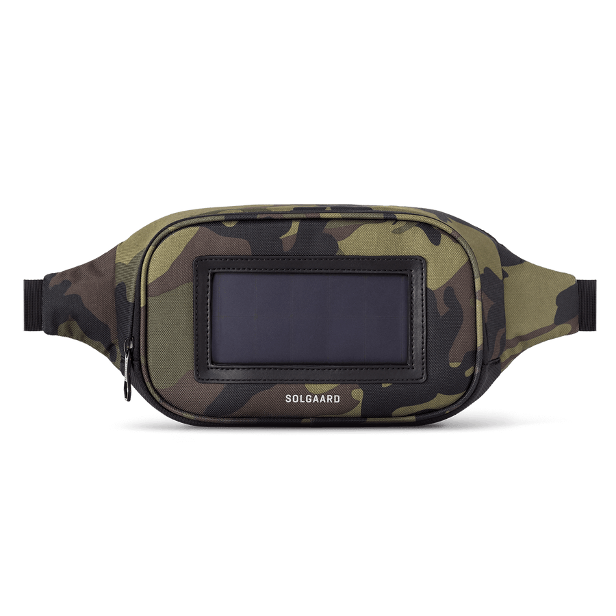 Green Camouflage | Sling with Solarbank