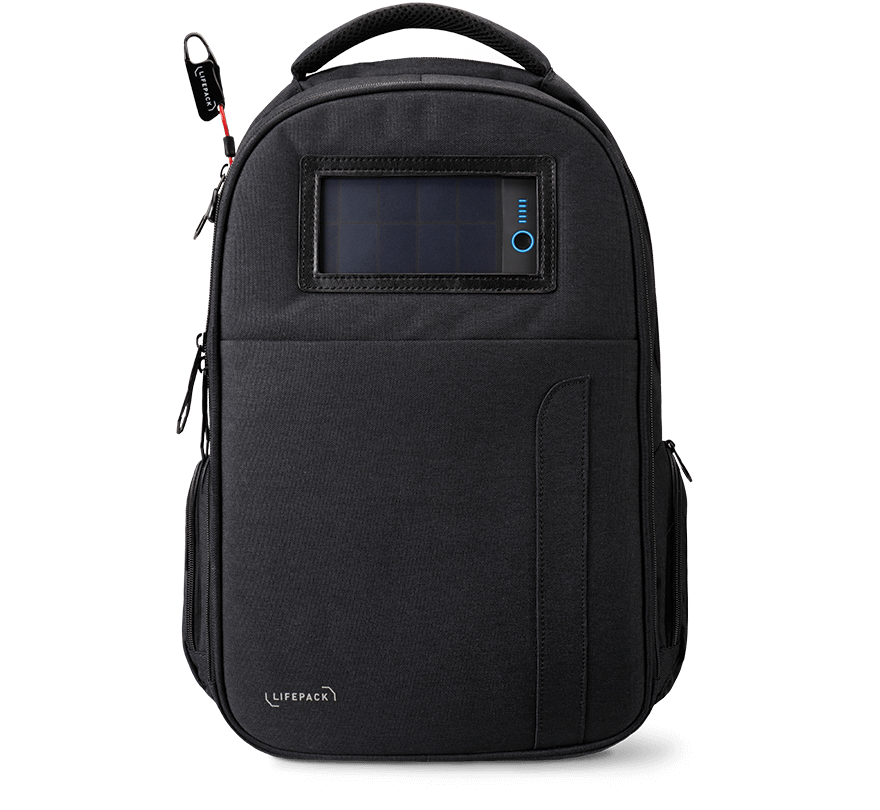 59ffccf2366f Lifepack - The Original Solar Powered and Anti-Theft Backpack – Solgaard  Design