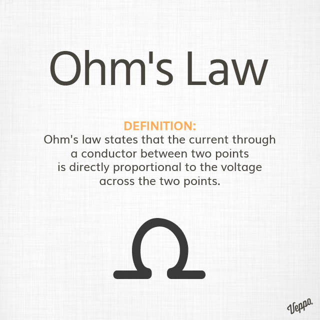 Ohms law and vaping