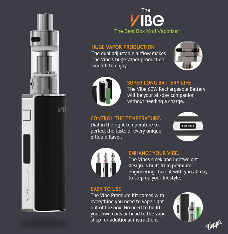 The Vibe - best box mod vaporizer on the market