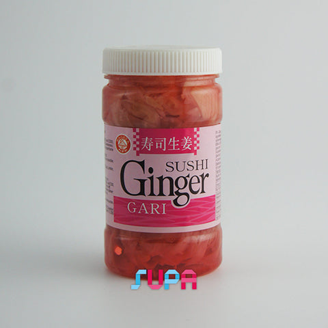 Gingembre mariné rose pour sushi 340g