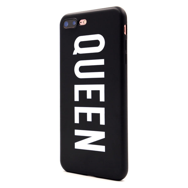 Romantic Gift : King & Queen phone case for Lovers