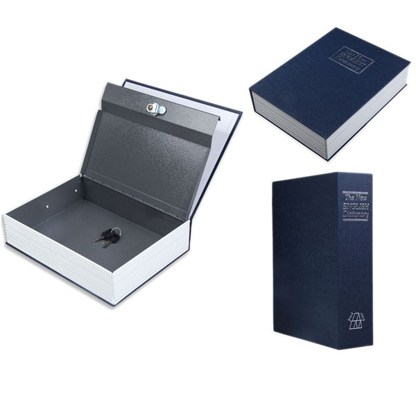 Secret Book / Money Box / Storage case / Security Boxes with key