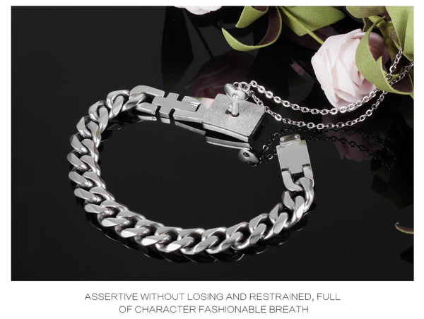 Romantic Gift : Bracelet & Necklace for Lovers