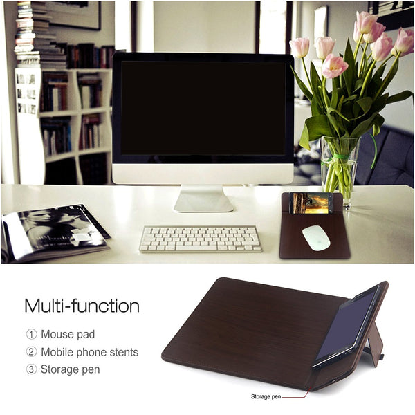 2in1 Qi Wireless Charger & Mouse Pad