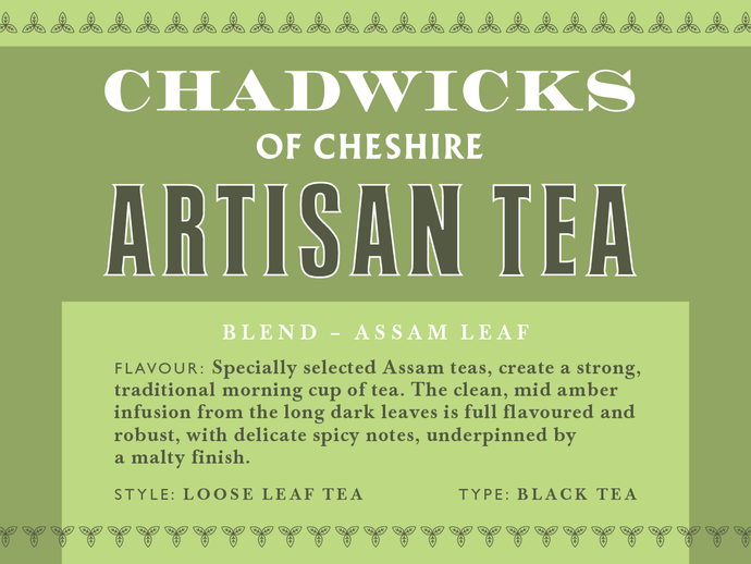 Assam loose leaf tea - Chadwicks Of Cheshire Artisan Coffee