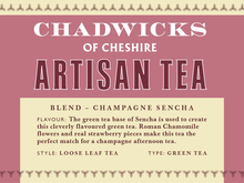Champagne Sencha - Chadwicks Of Cheshire Artisan Coffee