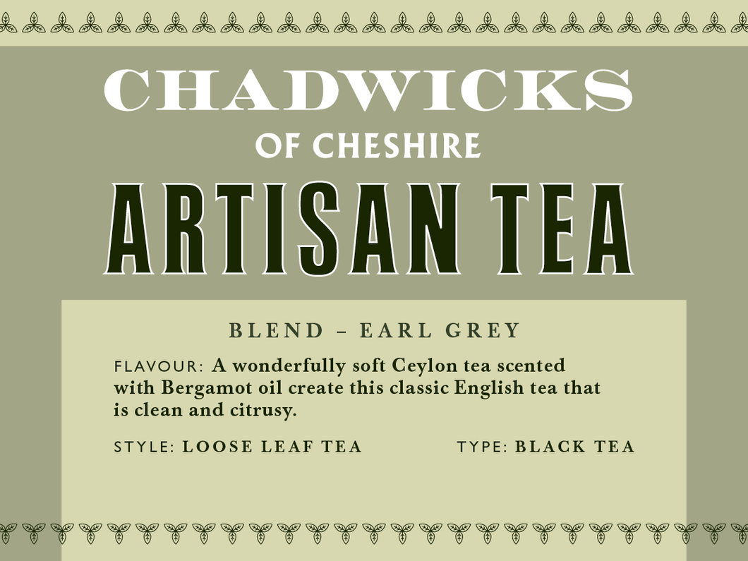 Earl grey - Chadwicks Of Cheshire Artisan Coffee