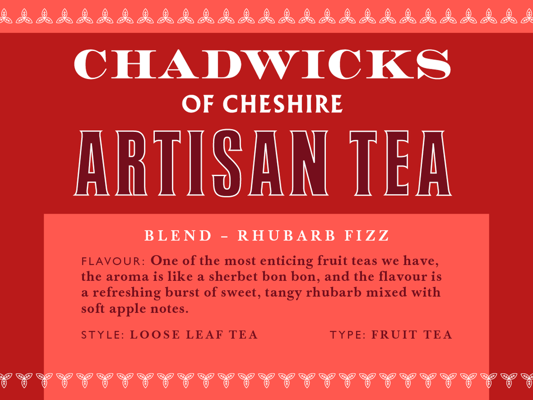 Rhubarb Fizz - Chadwicks Of Cheshire Artisan Coffee