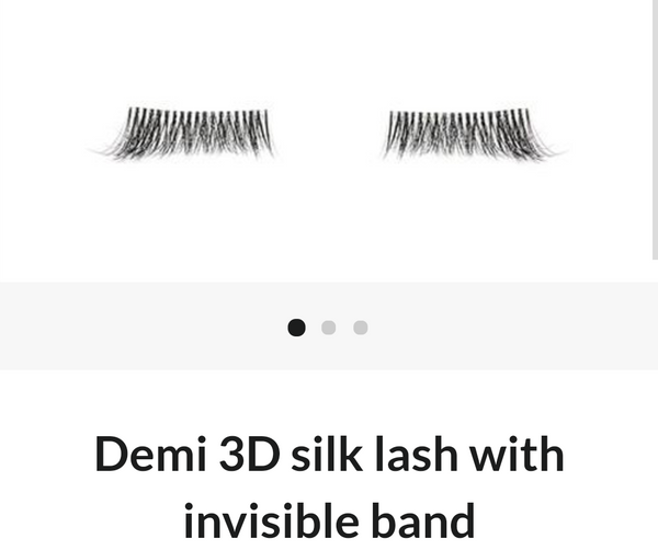 Eye lash set -Battington Demi 3D silk lash