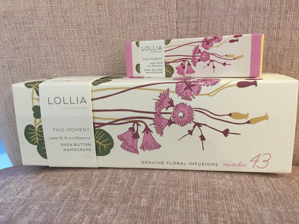 Lollia ~ This Moment.  Shea Butter Hand Creme
