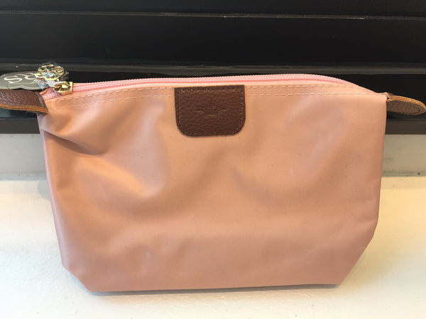 Nylon Cosmetic Pouch Rose Gold  The Royal Standard