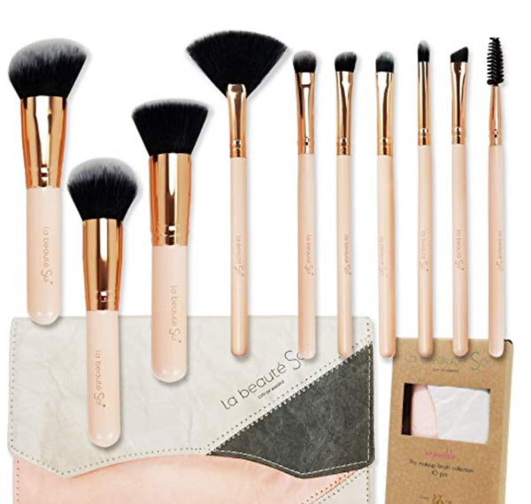 La Beauté Soi City Of Angels Ensemble Pro Makep Brush 10pcs