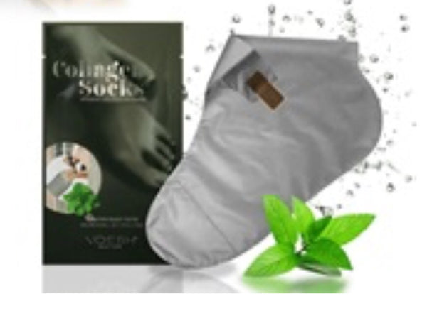 Voesh Collagen Socks ~ Herbal Mint