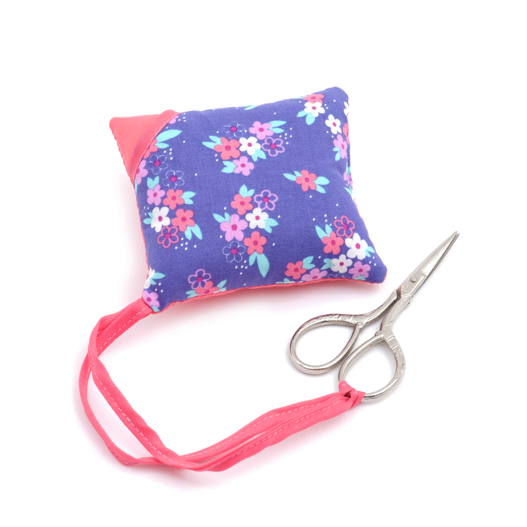 Pillow Pincushion with Scissors