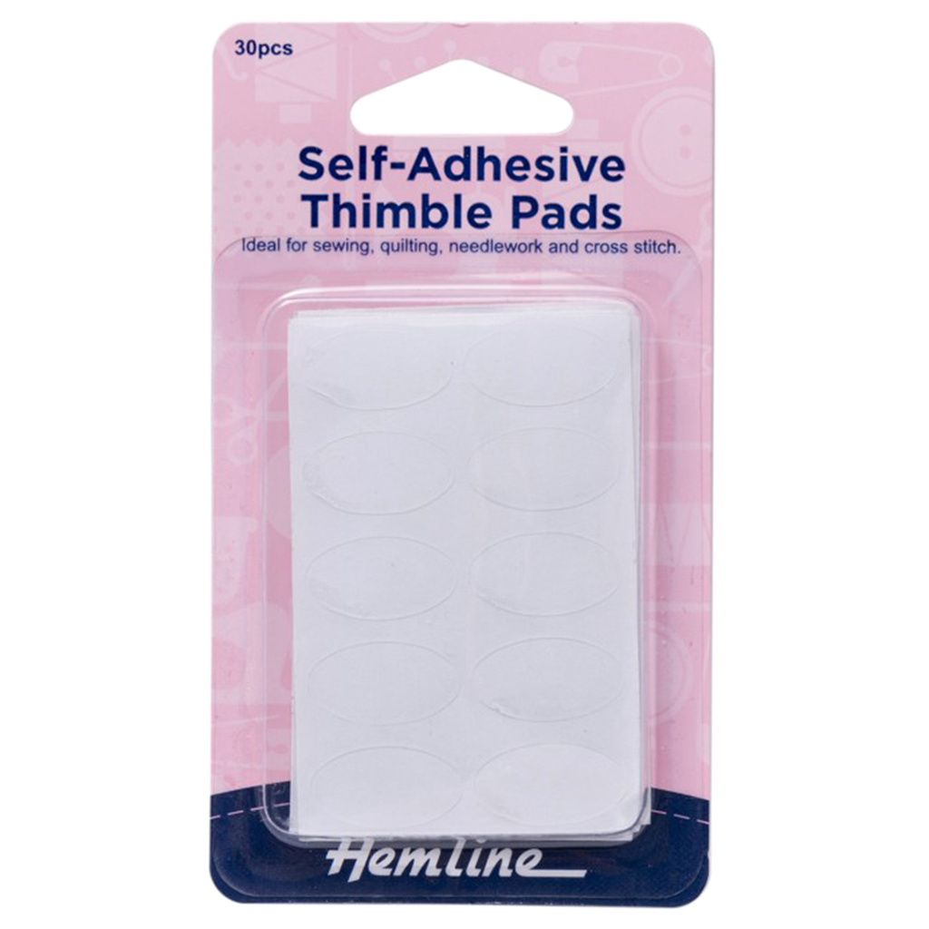 Thimble Pads: Self Adhesive: 30 Pieces