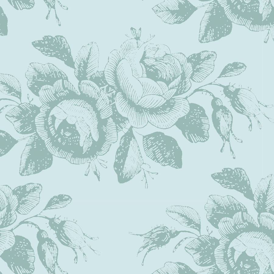 *NEW* Tilda Old Rose - Mary - Teal