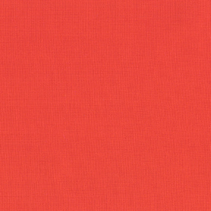 Robert Kaufman - KONA Cotton Solid - 1087 Coral