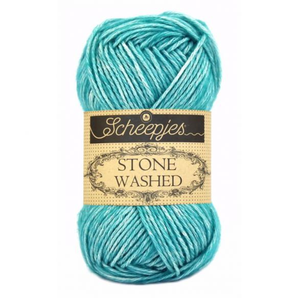 Stone Washed - Sport DK - 815 - Green Agate