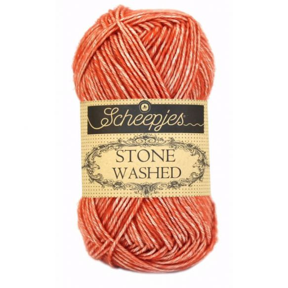Stone Washed - Sport DK - 816 - Coral