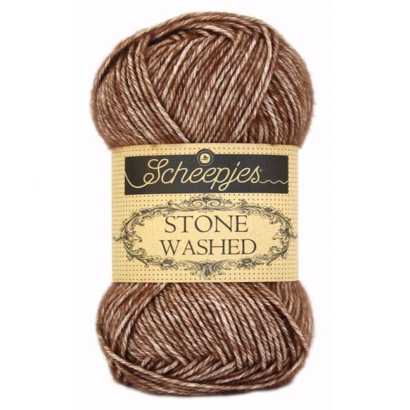 Stone Washed - Sport DK - 822 - Brown Agate