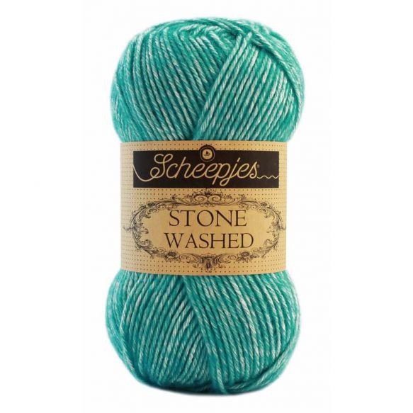 Stone Washed - Sport DK - 824 - Turquoise